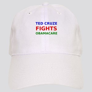 Ted Cruze Fights Obamacare Baseball Cap