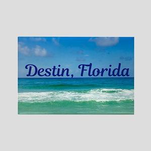 Destin Beach Rectangle Magnet