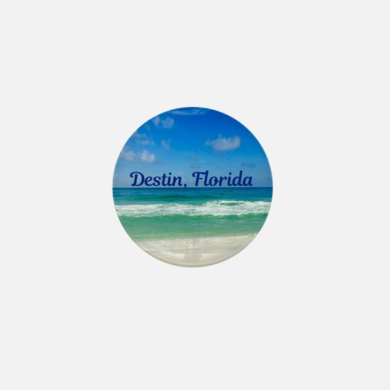 Destin Beach Mini Button