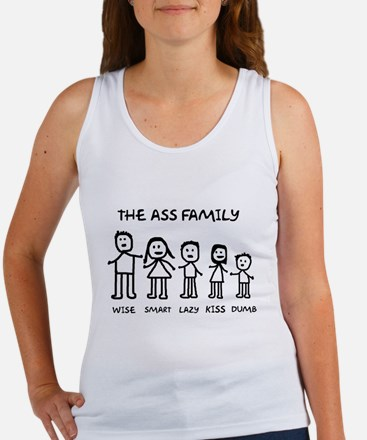 The Ass Family Women's Tank Top
