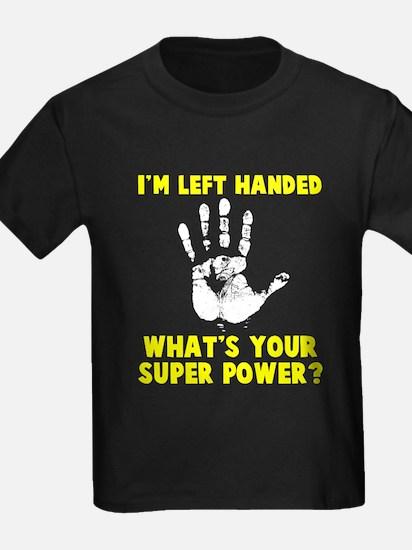 Left Handed Super Power T