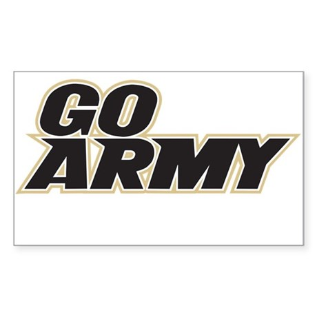GO ARMY FOOTBALL Sticker