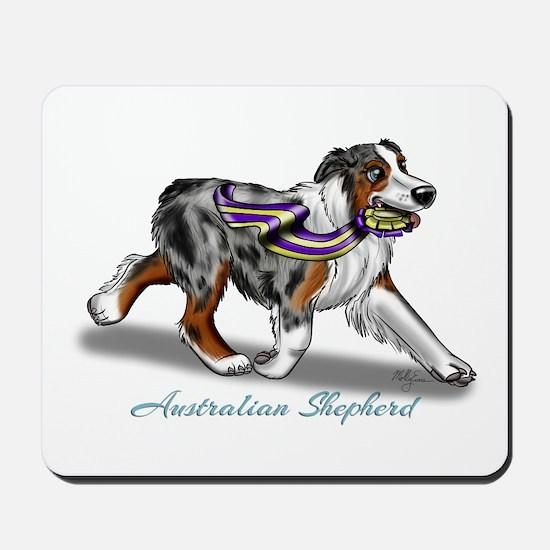 Australian Shepherd Blue Merle Mousepad