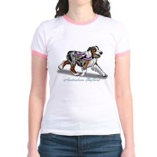 Australian Shepherd Blue Merle T-Shirt