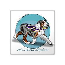 Australian Shepherd Blue Merle Sticker