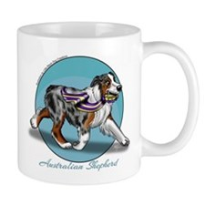 Australian Shepherd Blue Merle Mugs
