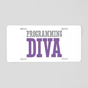 Programming DIVA Aluminum License Plate