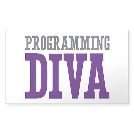 Programming DIVA Sticker (Rectangle)