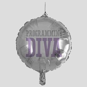 Programming DIVA Mylar Balloon