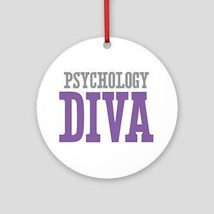 Psychology DIVA Ornament (Round)