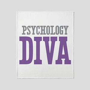 Psychology DIVA Throw Blanket