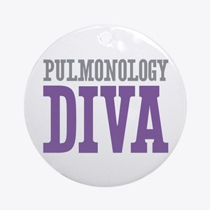 Pulmonology DIVA Ornament (Round)