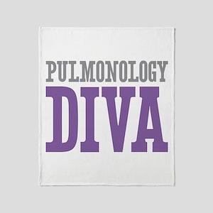 Pulmonology DIVA Throw Blanket