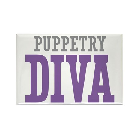 Puppetry DIVA Rectangle Magnet (100 pack)