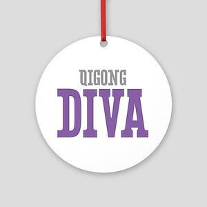 Qigong DIVA Ornament (Round)
