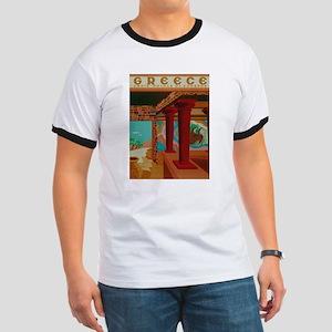 Vintage Crete Greece Travel T-Shirt