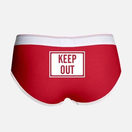 Keep Out Women's Boy Brief