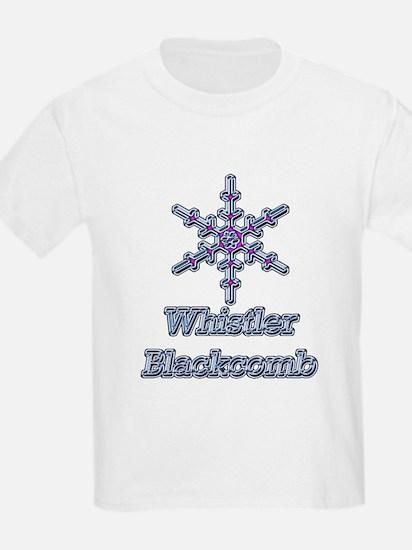 Whistler Blackcomb BC Kids T-Shirt