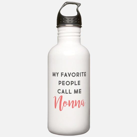 My Favorite People Cal Water Bottle
