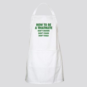 How To Be A Triathlete Light Apron
