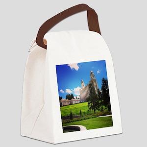 Manti Temple Canvas Lunch Bag