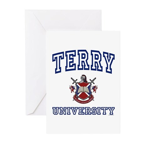 TERRY University Greeting Cards (Pk of 10)