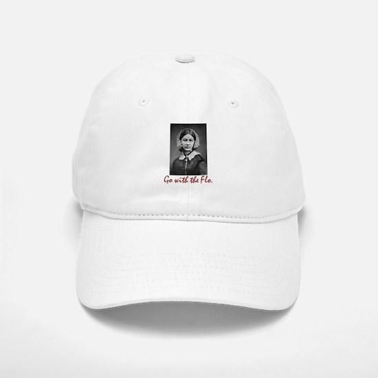 Go with Florence Nightingale! Baseball Baseball Cap