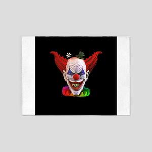 Hobo The Evil Clown 5'x7'Area Rug