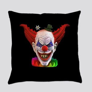 Hobo The Evil Clown Everyday Pillow