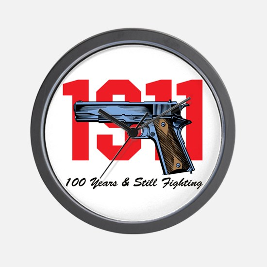 1911 Pistol Wall Clock