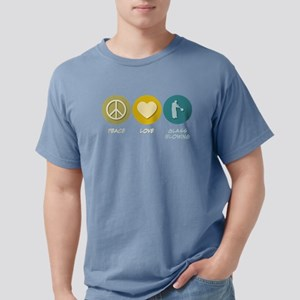 Peace Love Glass Blowing T-Shirt