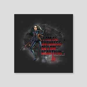 "G.I. Joe Baroness Square Sticker 3"" x 3"""