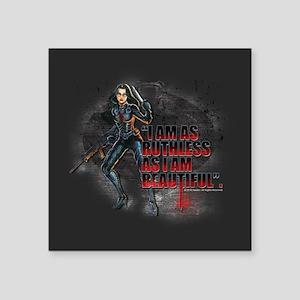"G.I. Joe Baroness Square Sticker 3"" x 3"""