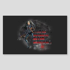G.I. Joe Baroness Sticker (Rectangle)