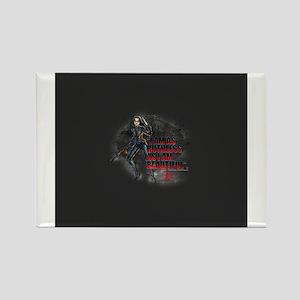 G.I. Joe Baroness Rectangle Magnet