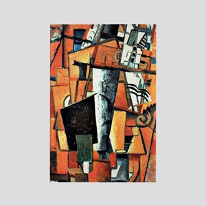 Kazimir Malevich: The Lady at the Rectangle Magnet