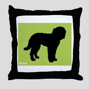 Goldendoodle iPet Throw Pillow