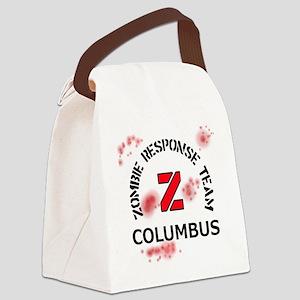 Zombie Response Team Columbus Canvas Lunch Bag