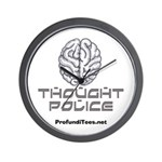 Thought Police Wall Clock