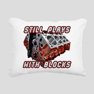Engine Block Rectangular Canvas Pillow
