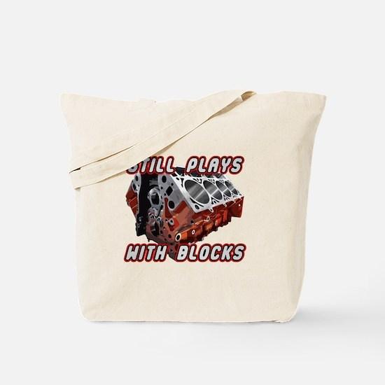Engine Block Tote Bag