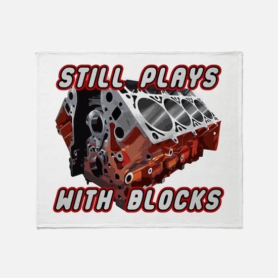 Engine Block Throw Blanket