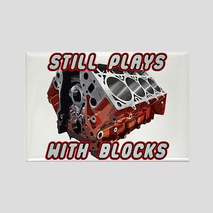 Engine Block Rectangle Magnet