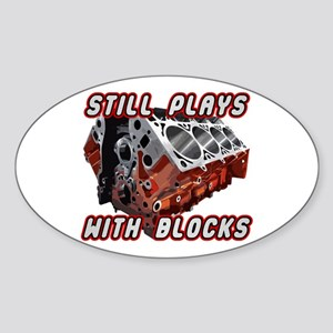 Engine Block Sticker (Oval)