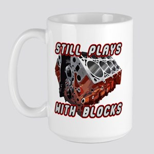 Engine Block Large Mug