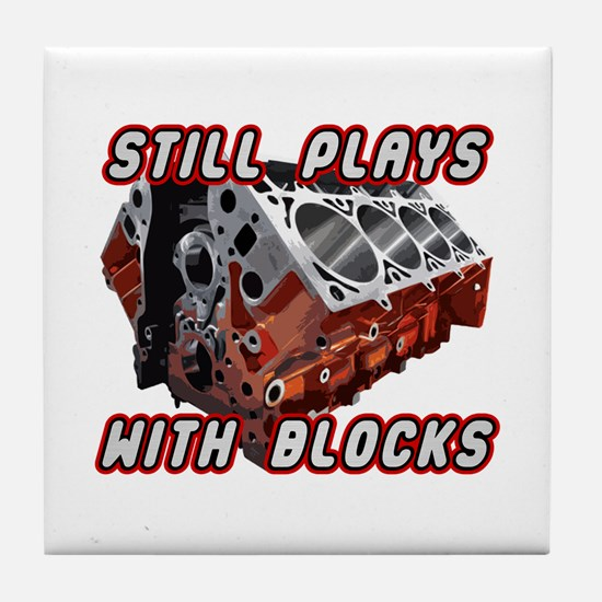 Engine Block Tile Coaster