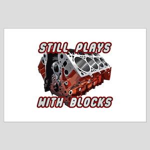 Engine Block Large Poster