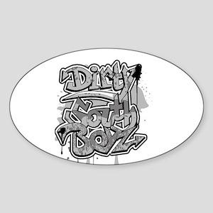 DIRTY SOUTH Oval Sticker