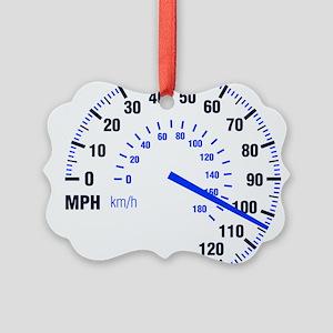 Racing - Speeding - MPH Ornament