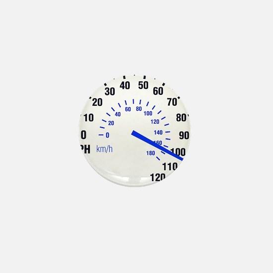 Racing - Speeding - MPH Mini Button
